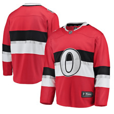Men's Fanatics Red Ottawa Senators NHL 100 Classic Breakaway Blank Jersey NWT