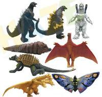 8pcs/set Godzilla 2 King of Monsters Gidola King Figure Toy Decoration Gift Toy