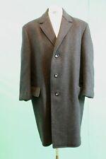 Vintage-Schiessling Woll Mantel ca 52/L reine Schurwolle grau crombie coat*
