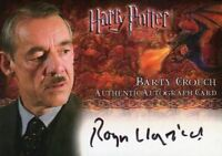Harry Potter and the Goblet of Fire Update Roger Lloyd-Pack Autograph Card