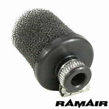 13mm ID Neck Mini Crankcase Breather Air Filter 100% MADE IN THE UK By RAMAIR