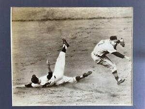 Rare 1950s Original Photograph 14 x 17 photo baseball game