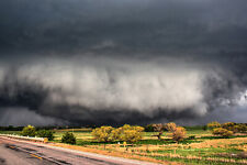 Photography Print of Wide Tornado in Oklahoma