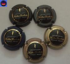 5 Capsules de Champagne NICOLAS FEUILLATTE Toutes Différentes !!!!
