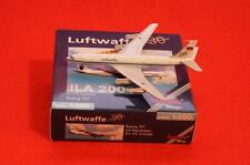 NEW HERPA WINGS 512046 LUFTWAFFE ILA 2000 BOEING 707 W/ REG. NIB MODEL DIE CAST