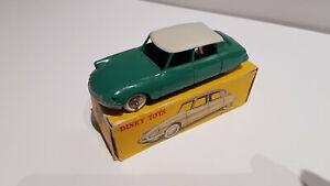 Citroën DS19 dinky toys made in France neuve en boîte