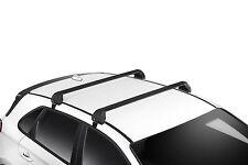 GENUINE HYUNDAI PD i30 HATCH 2017> PAIR ROOF RACKS CARRY BARS CROSS RAILS SET