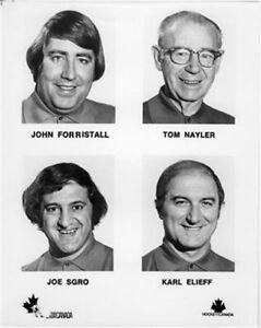 Eqipment team of Canada Team 1972 8x10 Photo