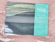 PIUBELLE Throw & or Twin Matelasse Coverlet 2 Toned Pink Cotton New - Pretty