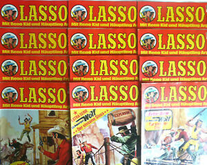 Lasso Comic AUSWAHL  Bastei Verlag Western Klassiker