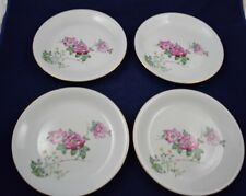 Vintage UNION CHINA (of Japan) Set Of 4 Lunch or Dinner Plates Pattern UCJ5 HTF