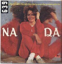 """NADA - Dimmi che mi ami che tu ami solo me VINYL 7"""" 45 LP 1981 VG+/VG- CONDITION"""