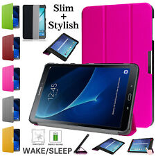 "For Samsung Galaxy Tab S2 9.7""/8"" Smart Magnetic Strong Case Striped Stand Cover"