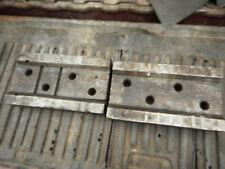 2 Older I Beam Style Parallel Bars Machinist Setup Tooling