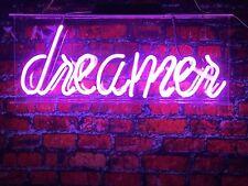 """New Dreamer Logo Acrylic Lamp Bar Artwork Neon Light Sign 14"""""""