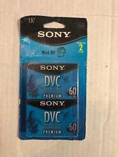 Sony Blank Mini DV 2pack DVC