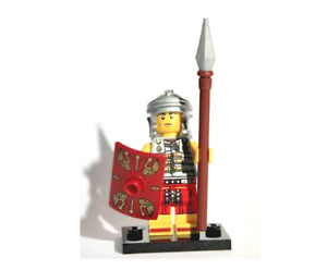 Lego Roman Soldier 8827 Collectible Series 6 Minifigures
