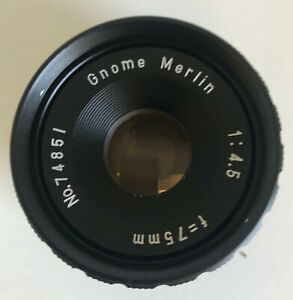 GNOME MERLIN ENLARGER LENS 4.5 75MM *74851