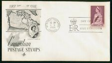 Mayfairstamps Canada Fdc 1964 Queen Elizabeth Ii Map First Day Cover wwm_84663