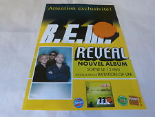R.E.M. - Publicité de magazine / Advert REVEAL !!!