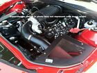 Cai 10-14 6.2l Chevy Camaro Cold Air Intake System W Slp Roots Style Sc Black