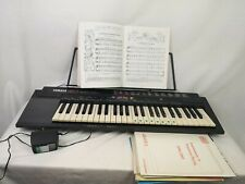 More details for yamaha electronic keyboard psr-3 100 voice portable  all in one size vintage