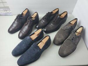 LOT 4 Pairs Men's Dress Shoes Size 12 - Cole Haan, Gordon Rush, Neiman Marcus