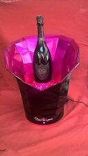 DOM PERIGNON JEWEL ROSE CHAMPAGNE LED ILLUMINATED ICE BUCKET EXTRA LARGE