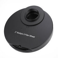 """2"""" 5 - Position Manual Filters Wheel for Telescope Astrophotography Accessory SS"""