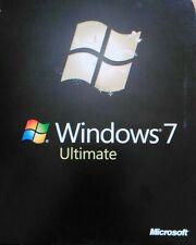 Windows 7 Ultimate w/SP1 64 Bit Full Version Install DVD Product Key