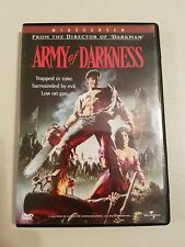 Army of Darkness (DVD, 1998, Widescreen) 1992