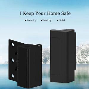 Aluminum Home Security Defender Childproof Door Reinforcement Lock with 4 Screws