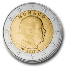 MONACO 2 EURO PRINCIPE ALBERT ANNO 2012 EMISSIONE DA ROTOLO