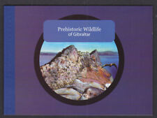 Gibraltar 2007 Definitive Prestige Booklet Prehistoric Wildlife Animals & Birds