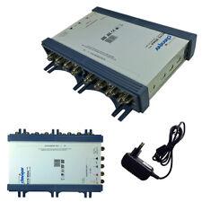 16 Teilnehmer Sat Multischalter 5/16 PMSE ANKARO Switch FULL HD Verteiler