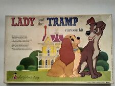 Vintage Colorforms Walt Disney Lady and The Tramp