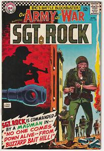 Our Army at War #170 172 173 174 175 DC War 5 pc Comic Book Lot Sgt. Rock Kubert