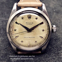 Dome Plastic Crystal for Vintage Rolex 6282 Oyster Men's Watch Plastic Crystal