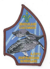 AJ2013 - AUSTRALIA SCOUT JAMBOREE - QUEENSLAND QLD SCOUTS CONTINGENT BADGE