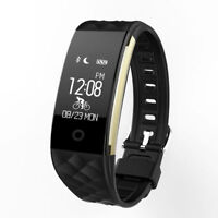 Waterproof Fitness Tracker Smart Watch Heart Rate Activity Monitor Fitbit style