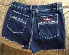 Jordache Daisy Duke Mom Cut Offs Jeans Shorts Size 30 Mini Stripper Size 10 Shor