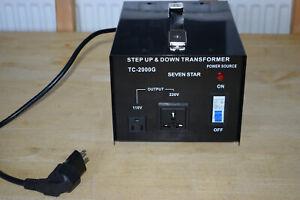 Step Up / Down Transformer 110V-220V /240V-110V EU/UK/USA Power Converter