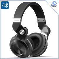 Headphones Bluedio T2 Plus Turbine 75mm Driver Bluetooth 4.1 220mAh Built-In Mic