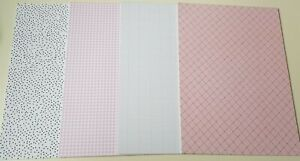 Patterned Card - 4 patterns - 33 sheets Total