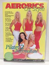 AEROBICS OZ STYLE ~ PILATES 2 INTERMEDIATE ~ RARE DVD