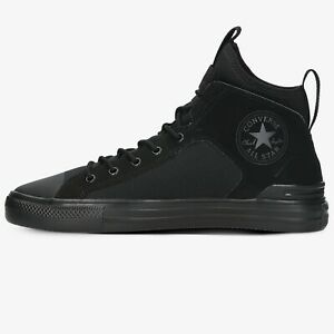 Converse All Star Ultra Mid Men's Athletic Black Sneaker Casual Trainer Shoe