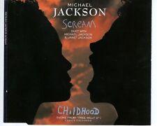 CD MICHAEL JACKSONscream  DUET WITH JANETmaxi cd EX  (A1613)