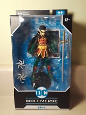 "DC Multiverse Damian Wayne AKA Robin  7"" Action Figure (McFarlane)"