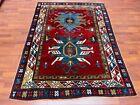 Antique Kazak Caucasian rug-4870