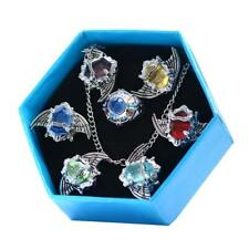 7Pcs/Set Katekyo Hitman Reborn Vongola Anime Cosplay Wing Rings Fashion Jewelry